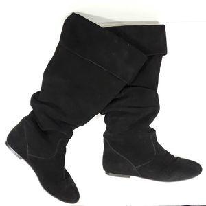 Gabriella Rocha Slouchy Knee High Fold Over Boots